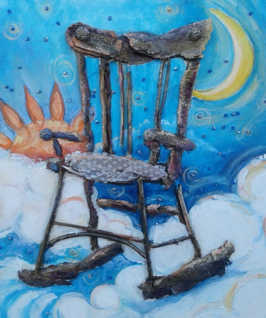 The Great Grandmother Rocking Chair of Creation